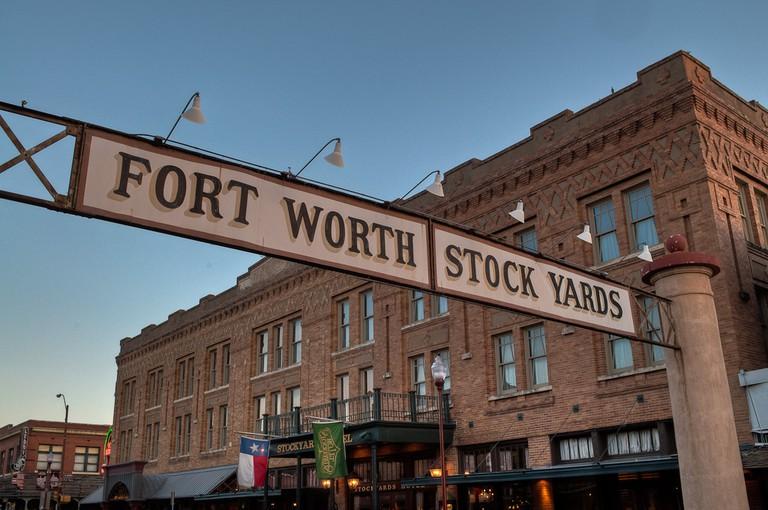 Fort Worth Stockyards Hotel | © Marco Becerra/Flickr