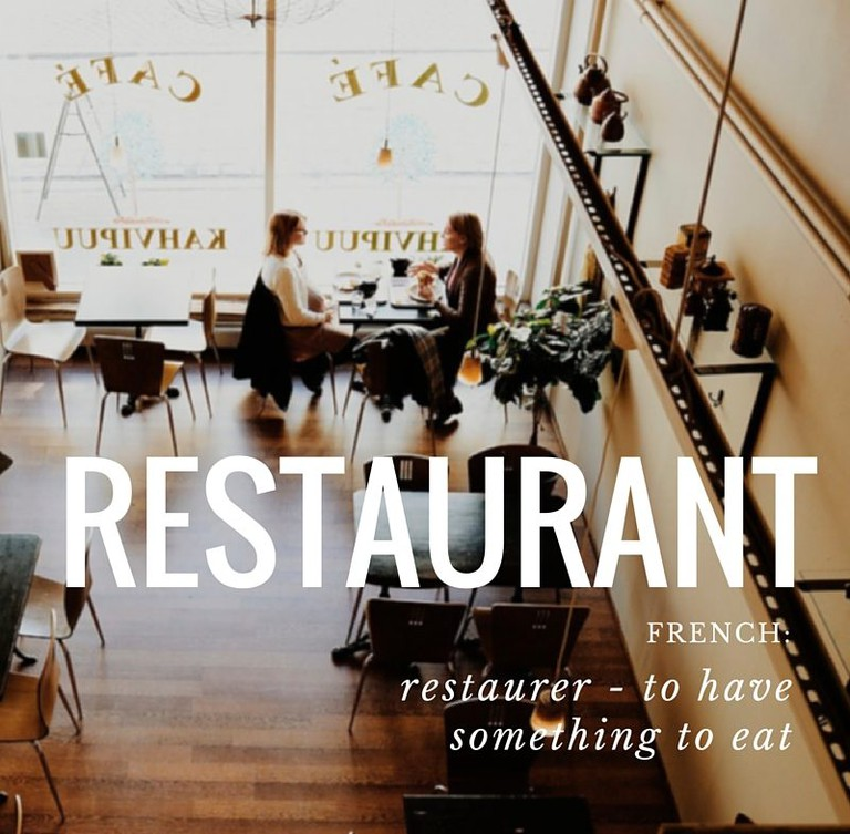 Restaurant | French Word