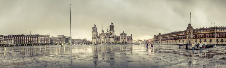 Tarde lluviosa en el Zócalo | ©Carlos Adampol Galindo/Flickr
