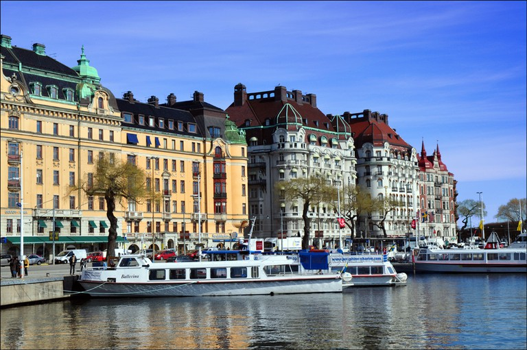 Strandvägen boulevard is now widely regarded as the most upmarket avenue in the city