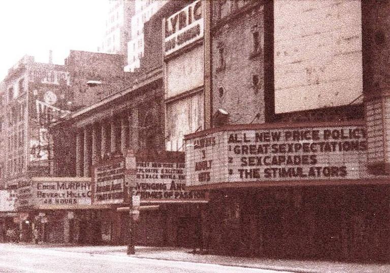 42nd St, NYC, Lyric Theatre, 1985 | © JGKlein/WikiCommons
