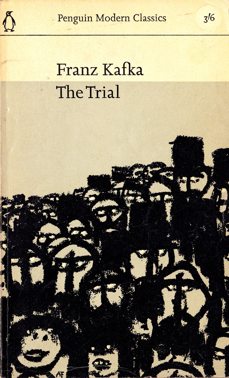 Penguin cover of Kafka's The Trial