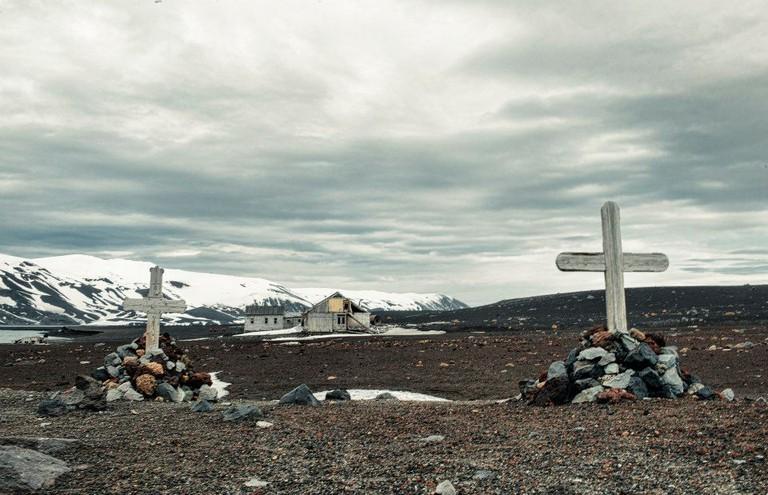 Desolation Island in the Antarctic Peninsula