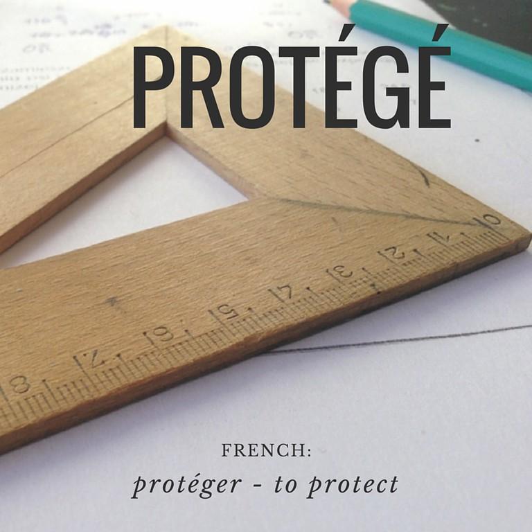 Protégé | French Word