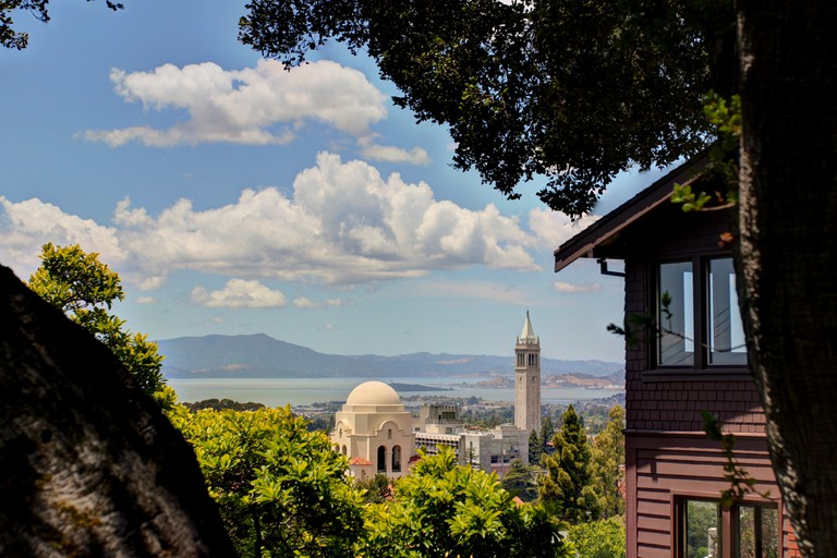 A hidden view of UC Berkeley | © John Morgan/Flickr