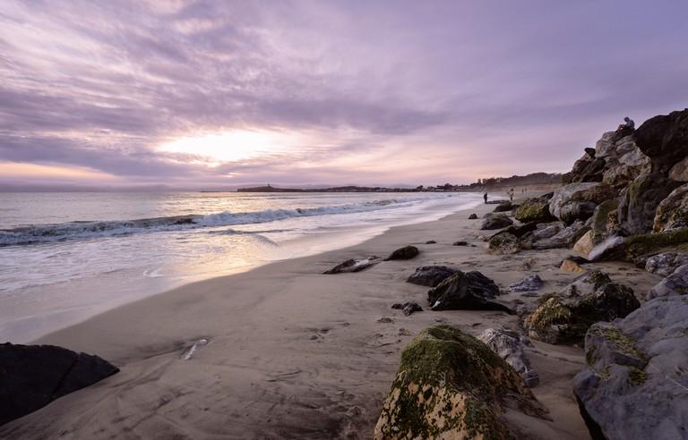 An epic Half Moon Bay sunset