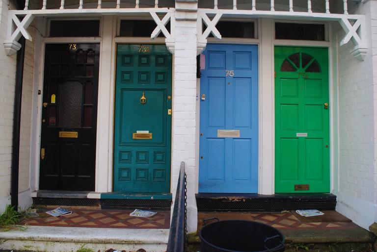 Colourful doors| © Alyssa Erspamer
