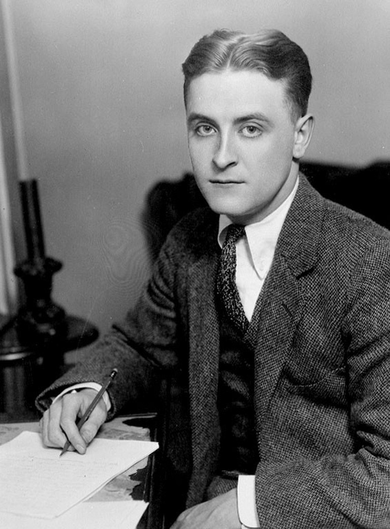 Photograph of F. Scott Fitzgerald c. 1921, appearing 'The World's Work'