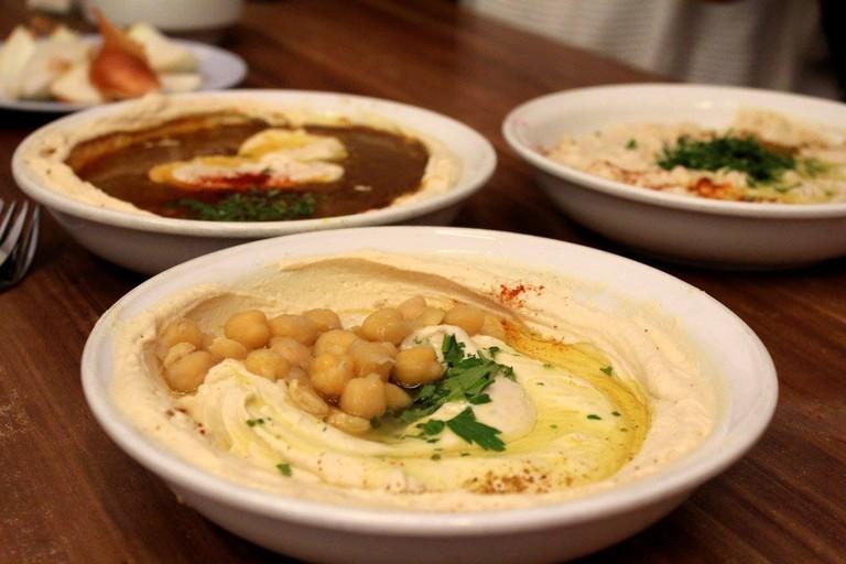 Abu Hassan Hummus   Courtesy of Alix Kron