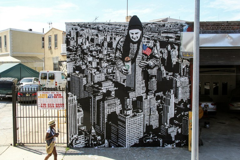 Icy and Sot (American dream at Welling court mural project) - Image Courtesy of Icy and Sot