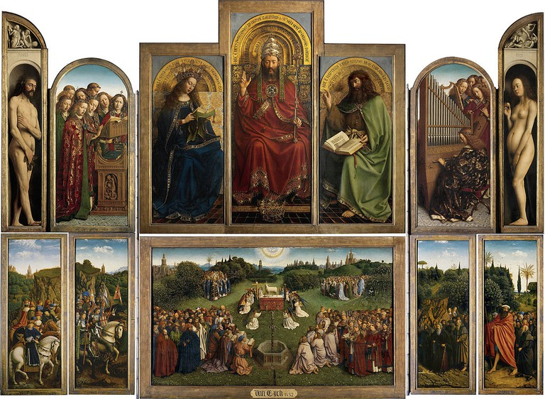 The Ghent Altarpiece | ©Saint Bavo Cathedral/WikiCommons