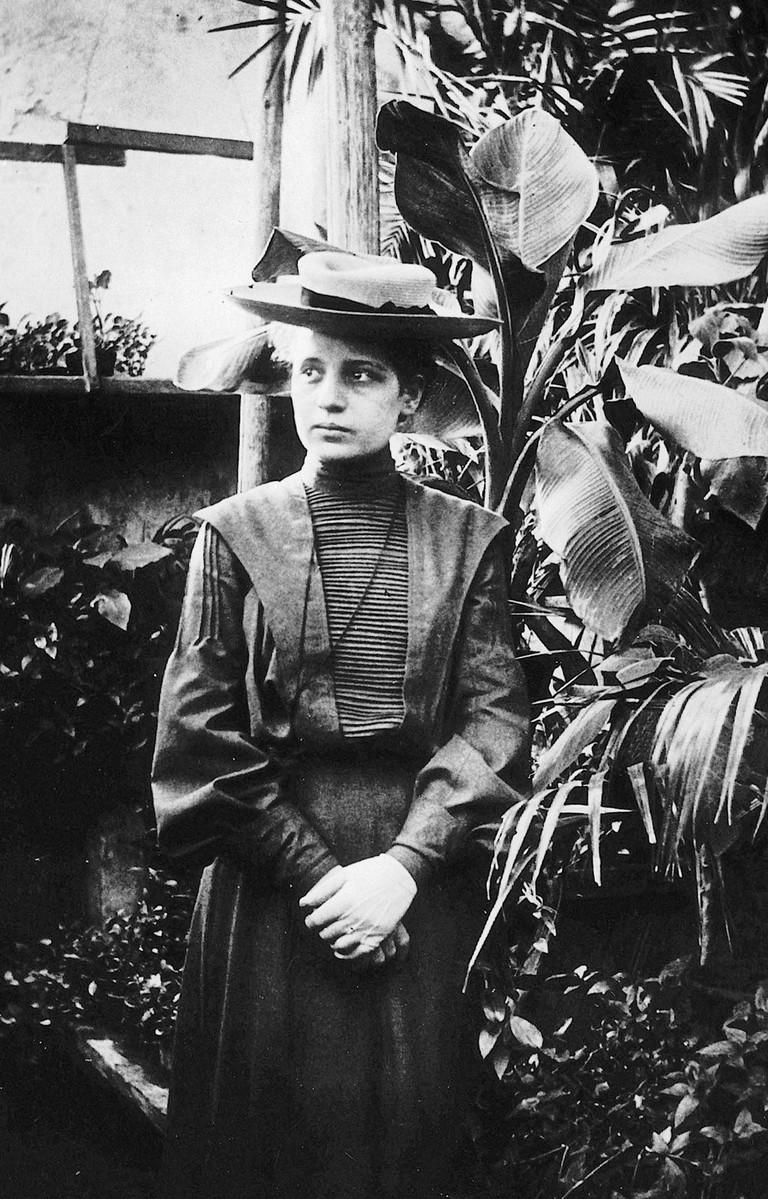 Lise Meitner around 1906 in Vienna / Wikicommons