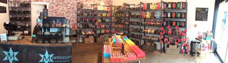Montezuma's Spitalfields-Store | Courtesy of Montezuma's