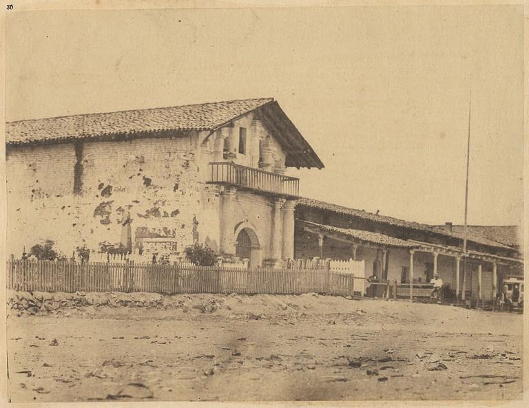 Mission Dolores, 1856/SMU Central University Libraries