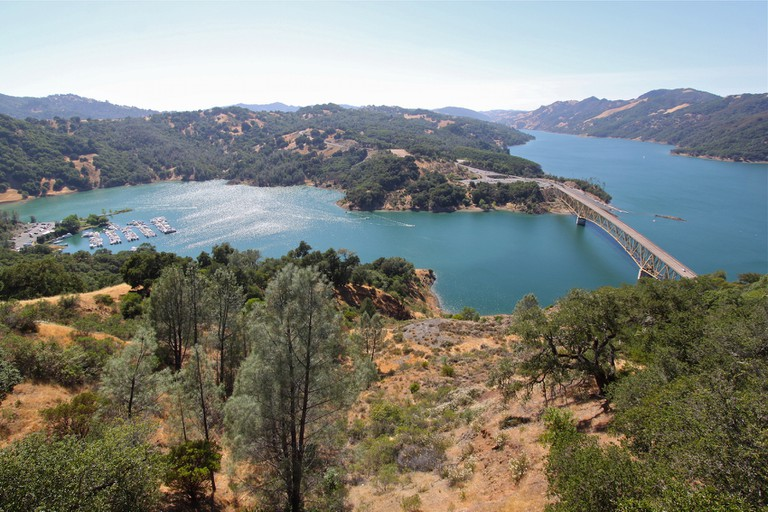 Lake Sonoma, near Geyserville, CA © Roy Luck/Flickr