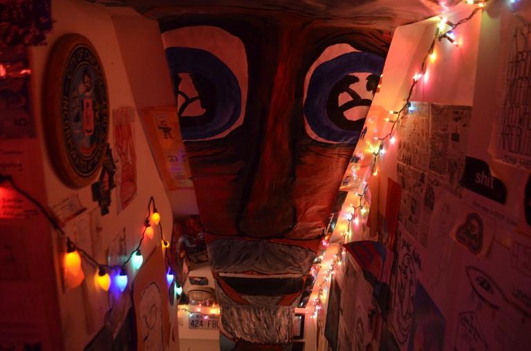 'Walls of The Shit Hole' -   courtesy of Zach Bartz