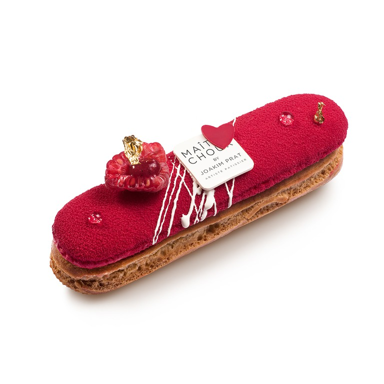 Red Love Éclair | Courtesy of Maître Choux