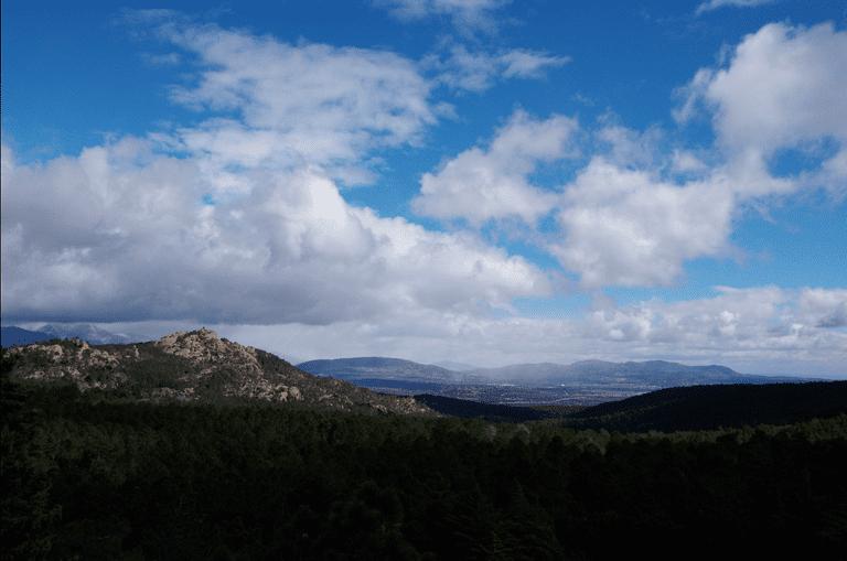 Valley in San Lorenzo El Escorial, Madrid