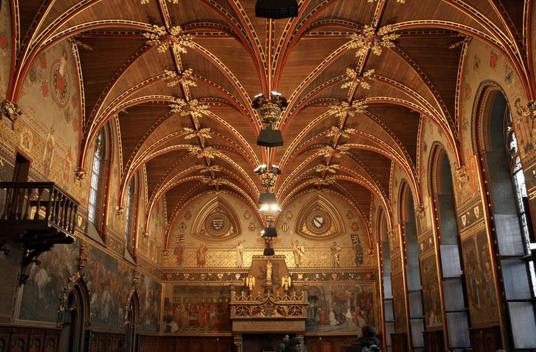 Inside Bruges town hall| Tanya Hart/Flickr