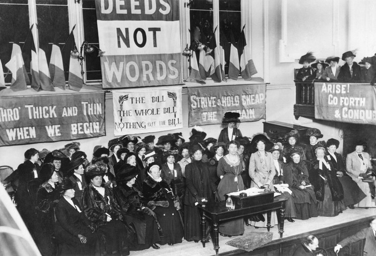 Women's Social and Political Union | © The New York Times / WikiCommons