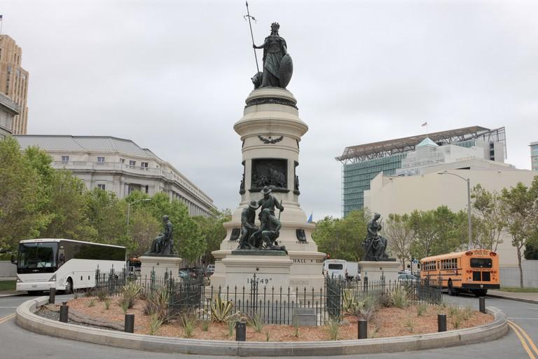 James Lick (Pioneer) Monument