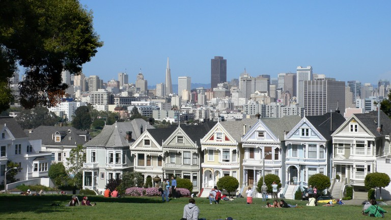 Alamo Square © Ingrid Taylar/Flickr