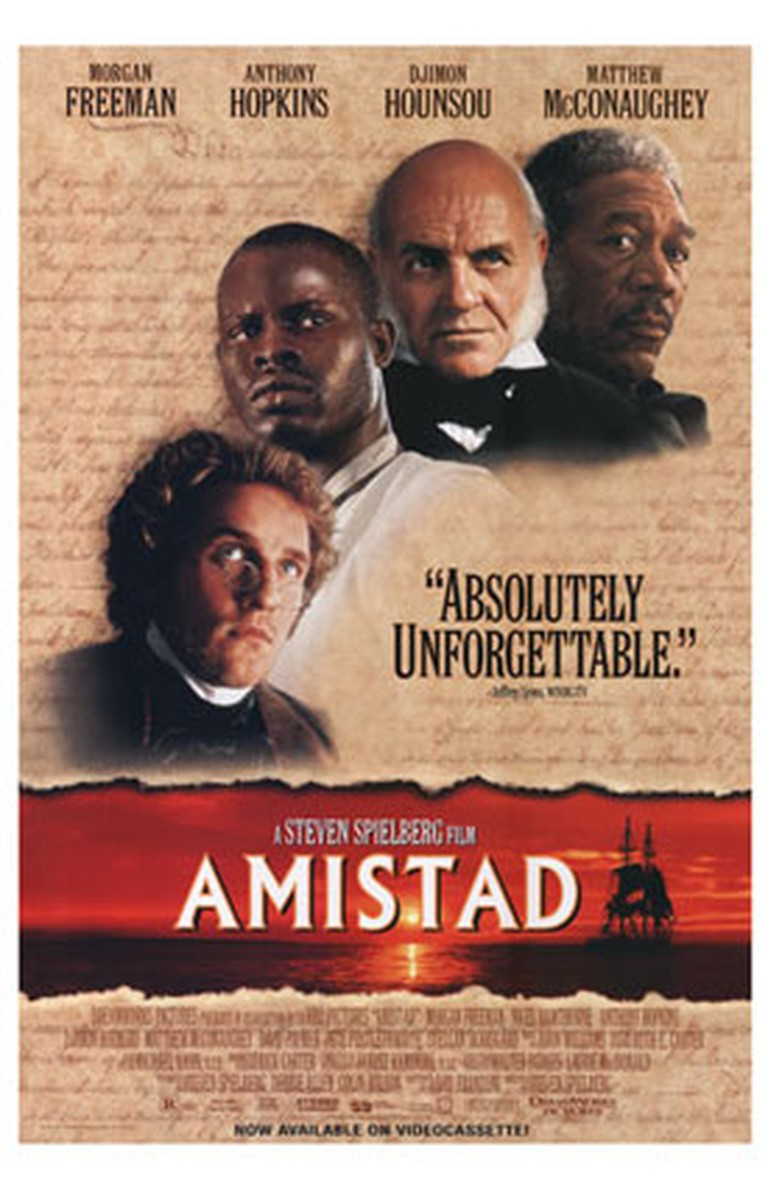 Amistad Poster | © DreamWorks/WikiCommons Fair Use
