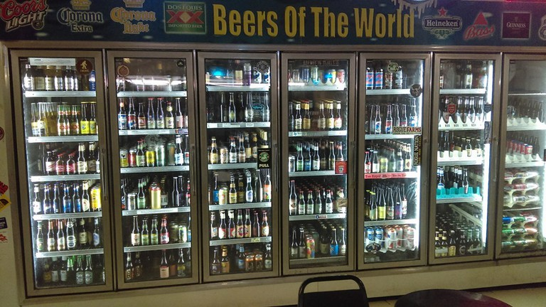 Beers of the World Refrigerator | Courtesy of Ted Silva III