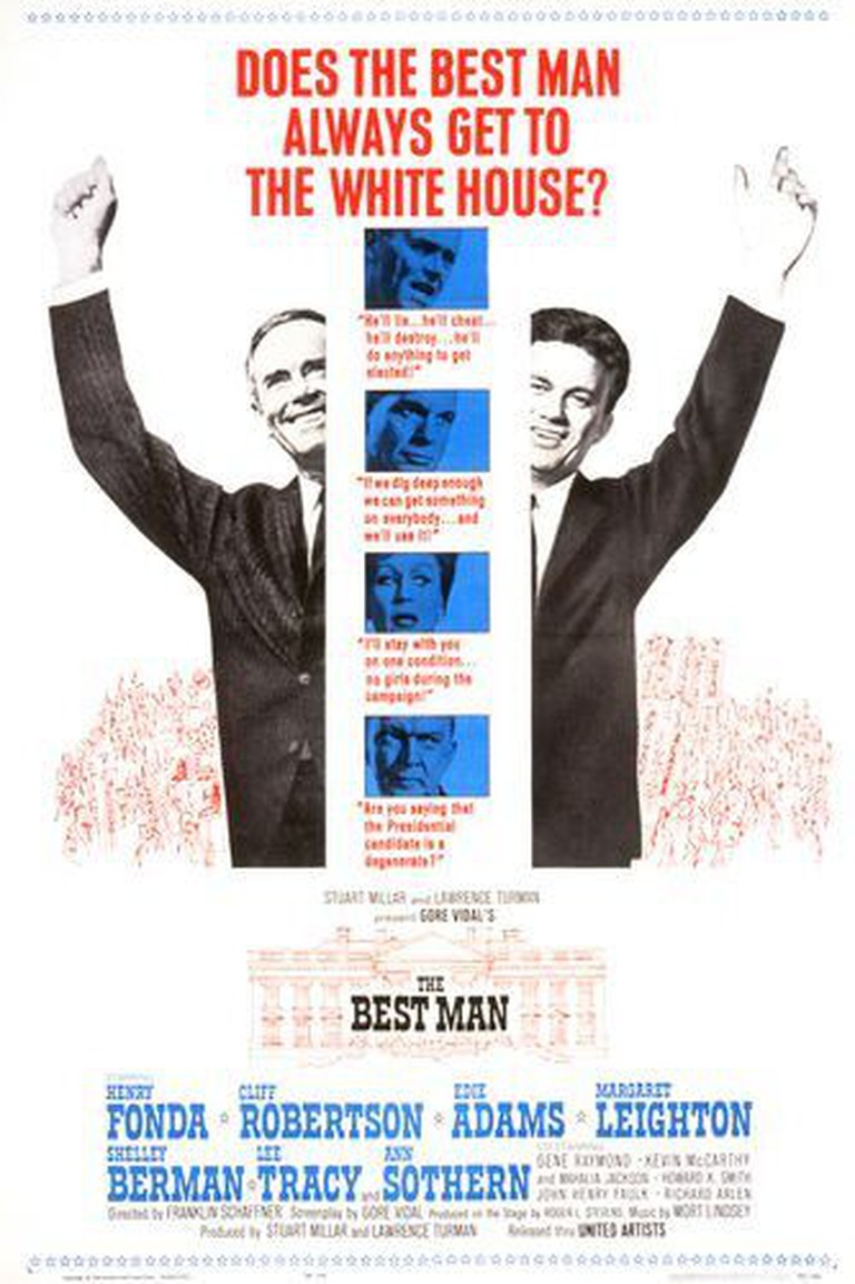 The Best Man Poster | © United Artists/WikiCommons Fair Use