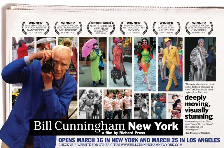 Bill Cunningham New York ©Zeitgeist Films