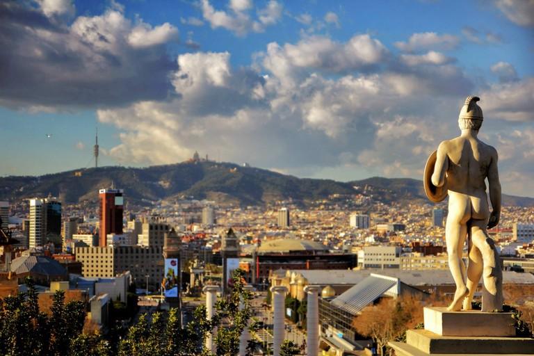 Barcelona from Museu Nacional d'Art de Catalunya | © Joaquin Aranoa/Pixabay