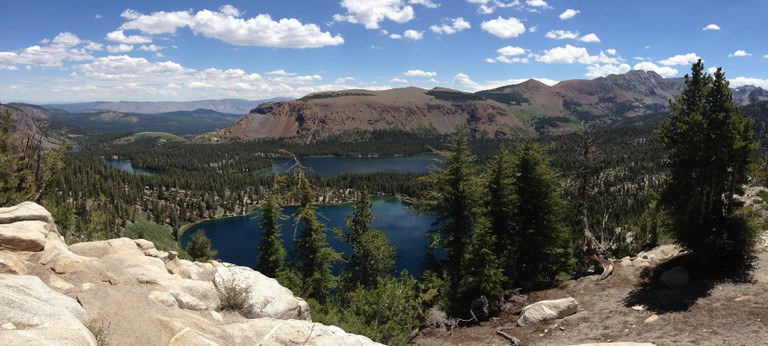 View of the Lakes Basin   © Addie Gottwald