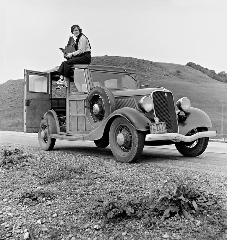 Dorothea Lange © Rondal Partridge/Wikimedia