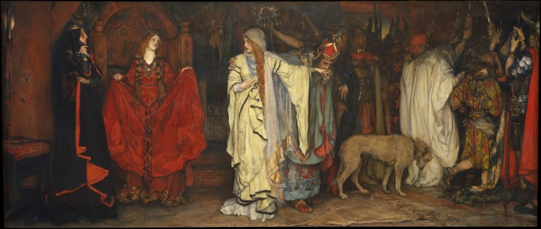 King Lear, Act I Scene I, (1897-1898), oil on canvas