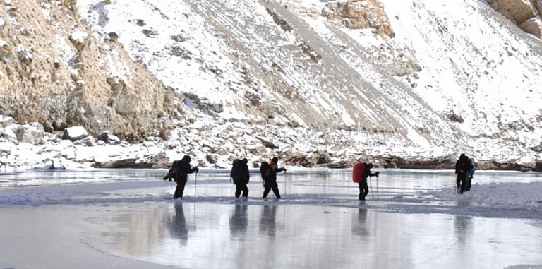 Frozen River Trek | © TourMyIndia