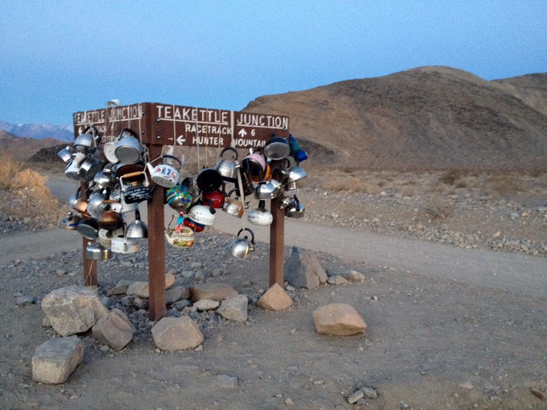 Teakettle Junction On The Way To Racetrack Playa, ©Gigi Chung