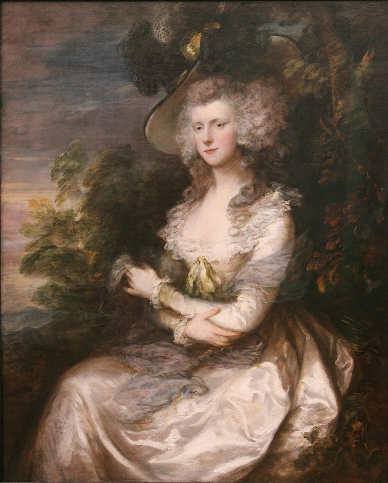 Mrs Thomas Hibbert © Thomas Gainsborough / WikiCommons