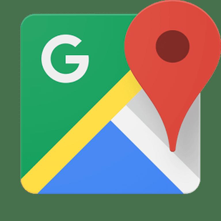 Google Maps Logo © Google