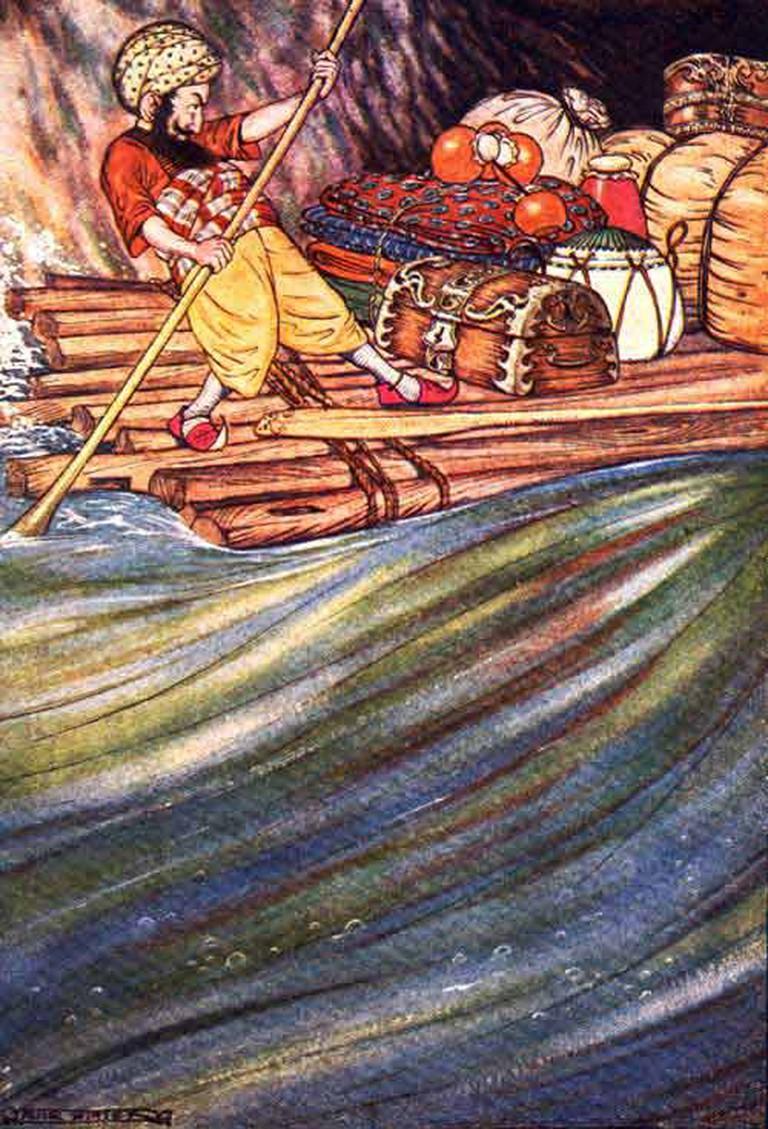 Sinbad the Sailor, 1914 | © Milo Winter/WikiCommons