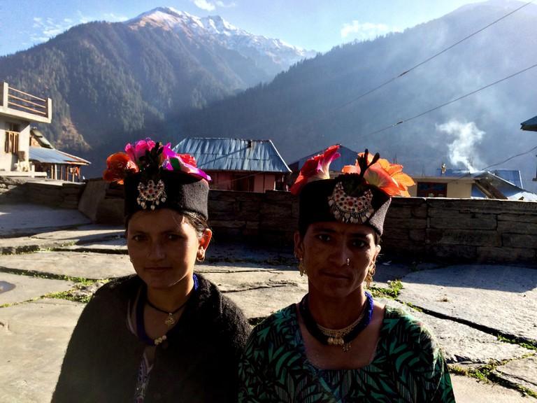 Headgear worn by Malanese women