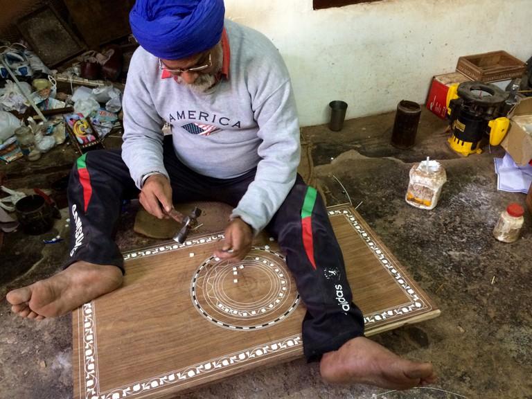 A sardarji at work