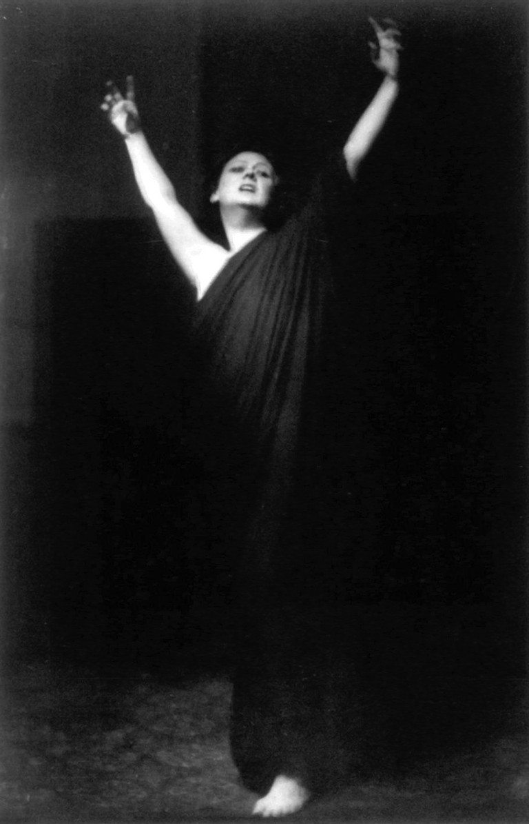 Isadora Duncan © Arnold Genthe/Wikimedia