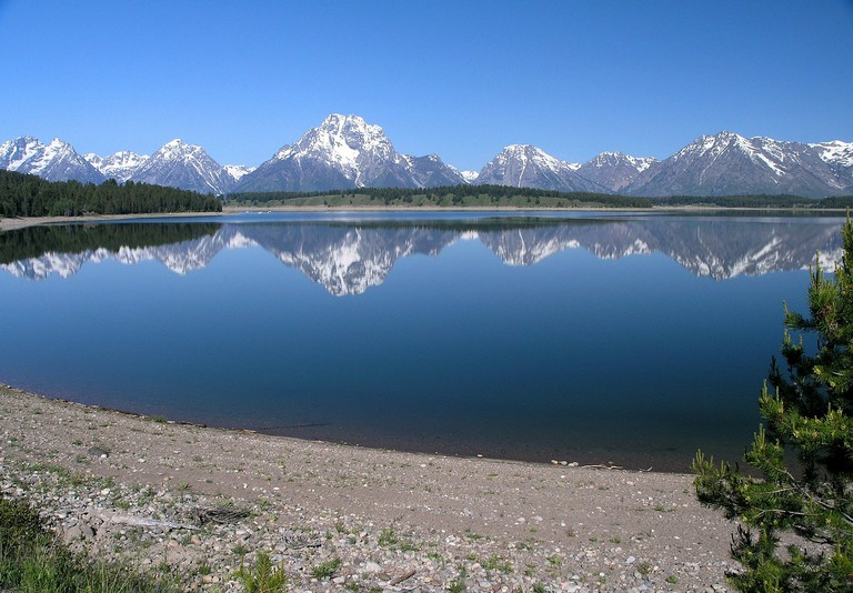 Jackson Lake, Grand Teton National Park | © tpsdave/Pixabay