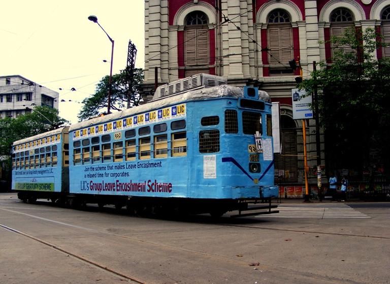 History on Wheels - Trams in Kolkata / ©Rajarshi Roychowdhury/Flickr