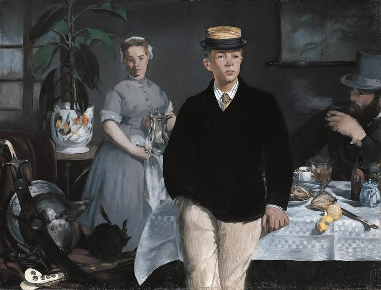 Luncheon in the Studio © Édouard Manet / WikiCommons