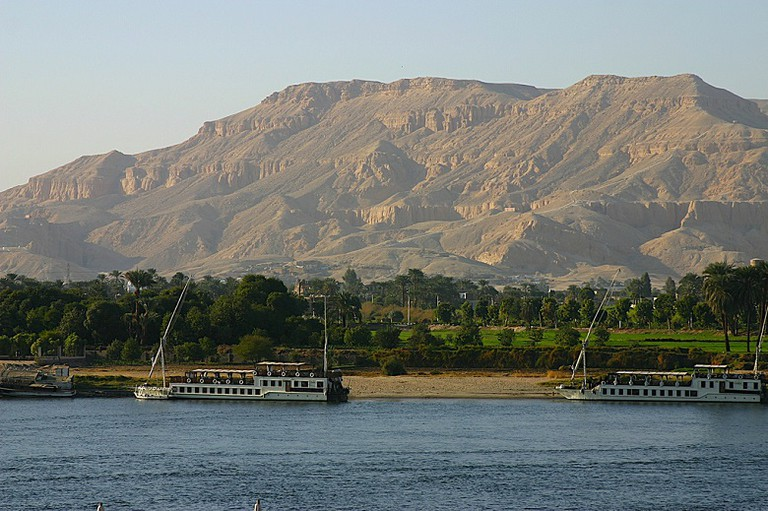 View of the Nile River