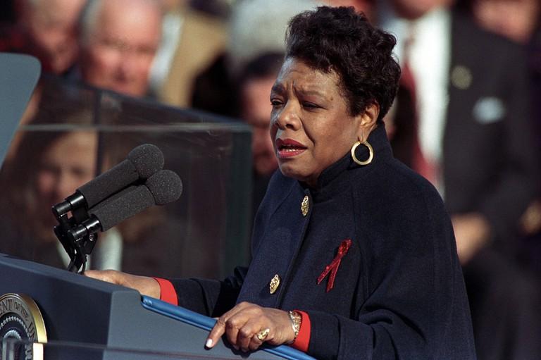 Maya Angelou © Clinton Library/Wikimedia