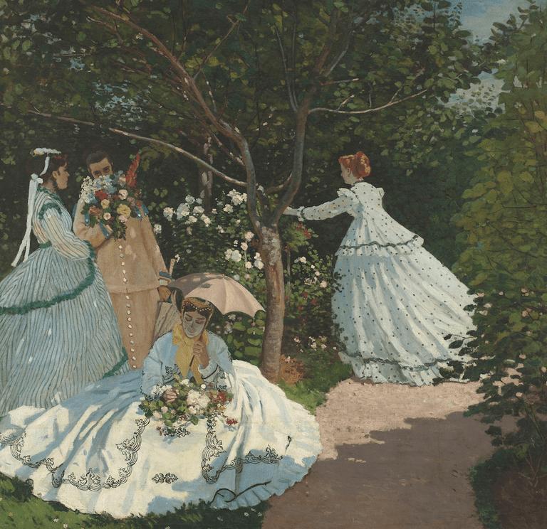 Women in the Garden