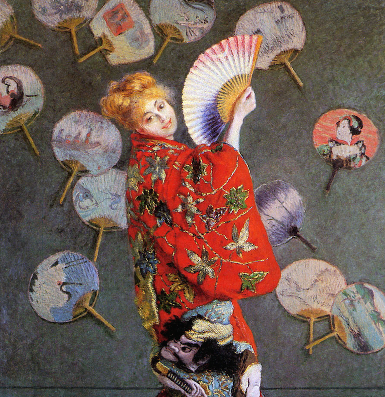 Madame Monet in Japanese Costume, 1876