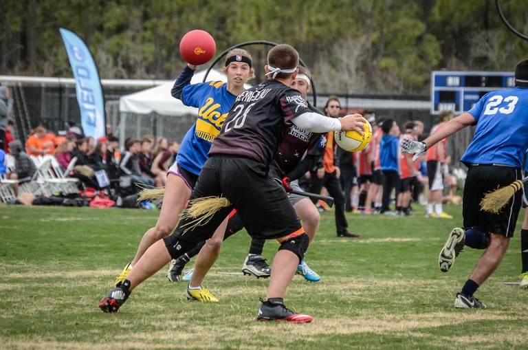 UCLA vs Arkansas at the Quidditch World Cup